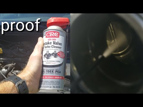 Crc intake valve and turbo cleaner bore scope results before and after best fuel cleaner ?