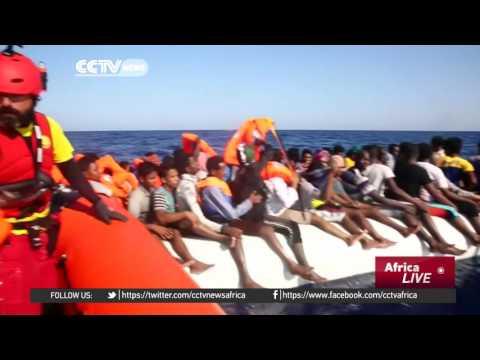 Volunteer group rescues hundreds of migrants off Libya coast