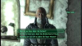 FALLOUT 3 Power Armor Training in the Beginning of the Game