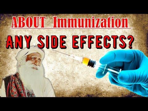Sadhguru - Can Vaccines cause any Health Problem? thumbnail