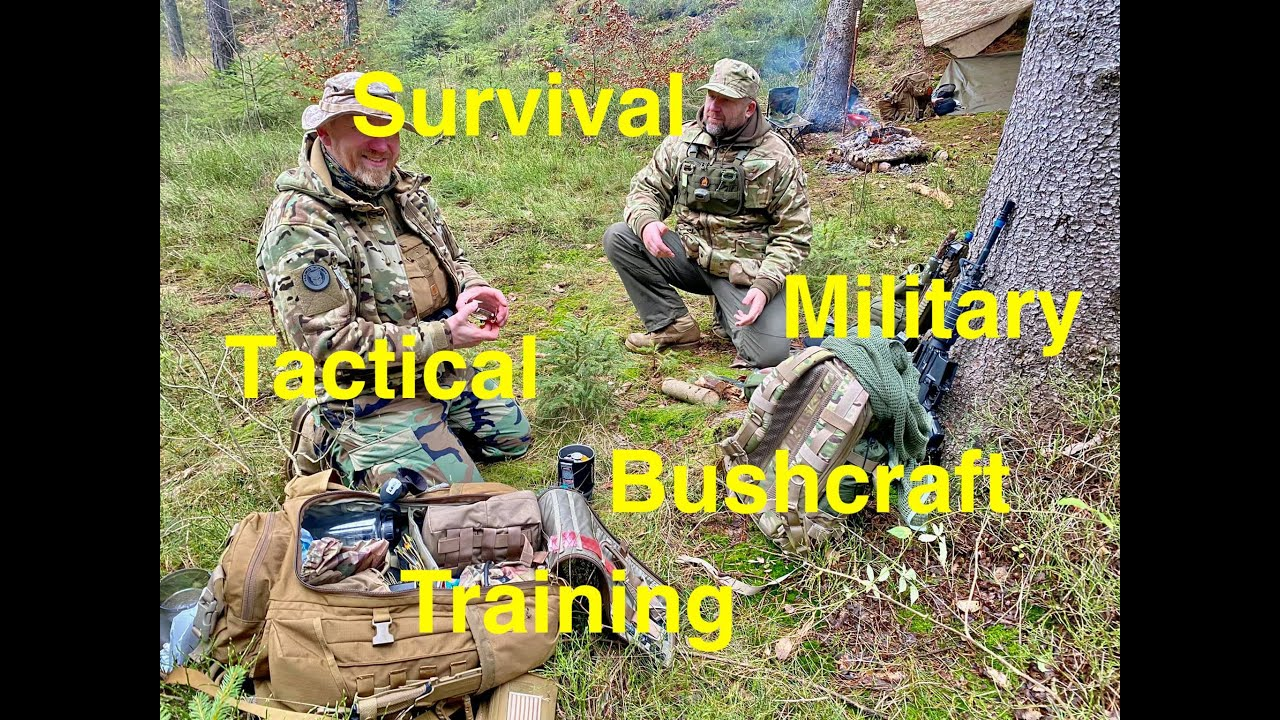 Survival  - Tactical - Military - Bushcraft -Training