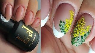 ❤ РИСОВАННЫЙ дизайн за 1 МИНУТУ ❤ ЭКСПРЕСС дизайн ❤ ФРЕНЧ на ногтях ❤ Дизайн ногтей гель лаком ❤