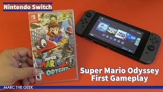 Nintendo Switch: Super Mario Odyssey First Gameplay