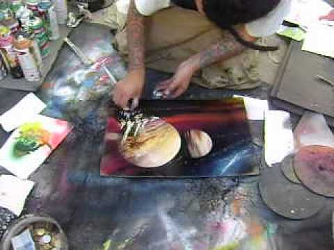 Flip 2013 pintura com spray youtube - Pintura para aluminio en spray ...