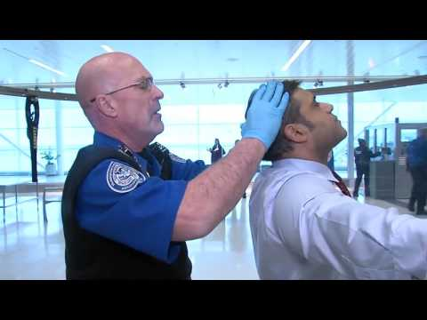 WATCH: A glimpse at the new TSA pat-down procedures