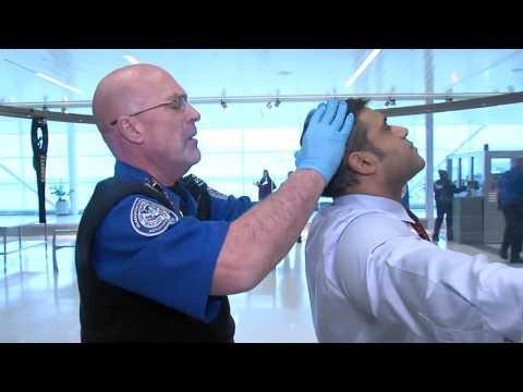 WATCH: A glimpse at the new TSA pat-down procedures