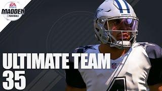 Madden 17 Ultimate Team - Ghost of Madden Dak Prescott Ep.35