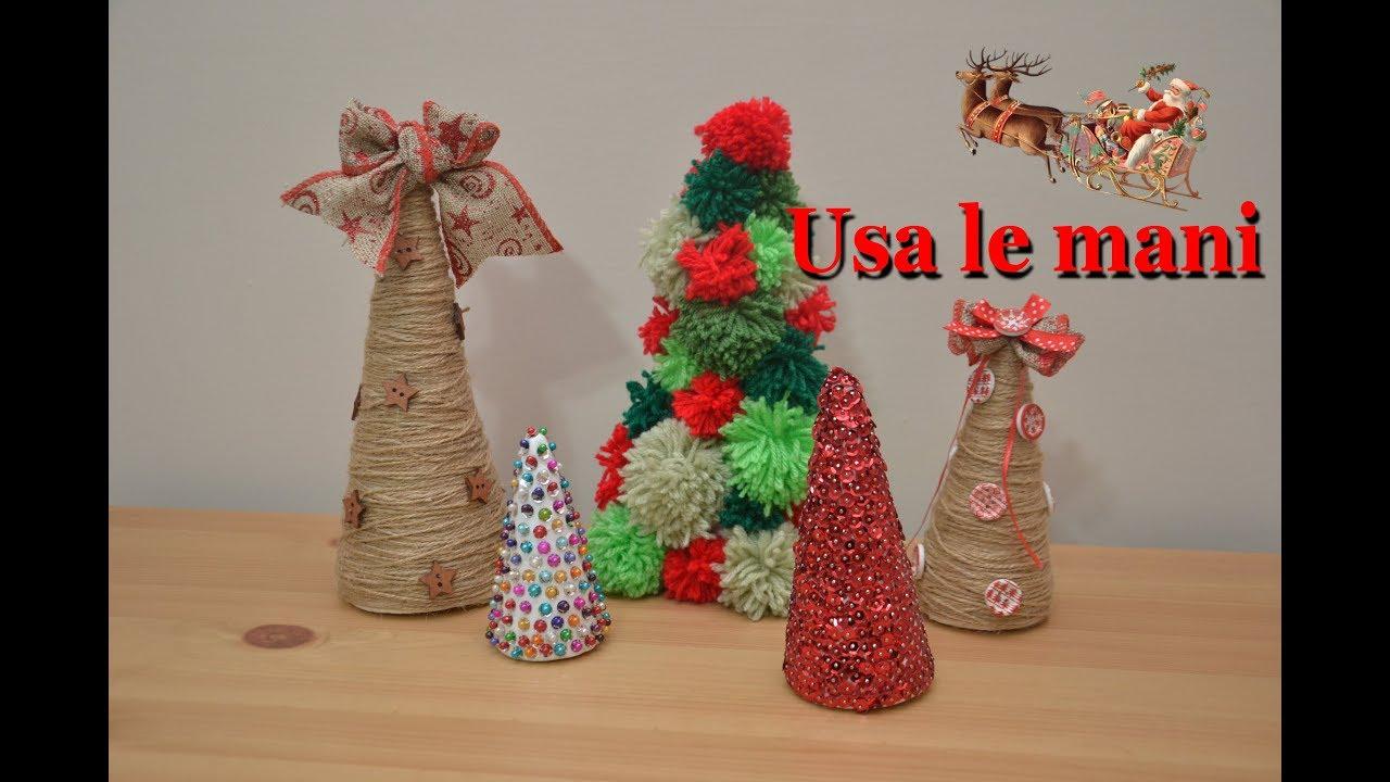 Quello che ci serve sono: Natale Fai Da Te 3 Modi Per Decorare I Coni Di Polistirolo