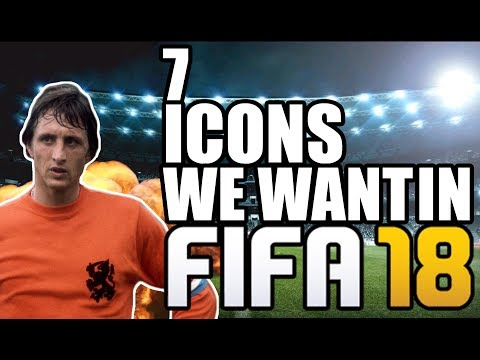 7 FIFA Icons We Want In FIFA 18