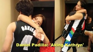Video Daniel Padilla Says 'Aking Kathryn' During Interview at Kapamilya Playoffs download MP3, 3GP, MP4, WEBM, AVI, FLV Oktober 2017