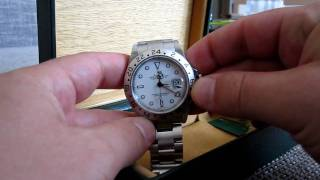 Rolex Explorer II 16570 overview