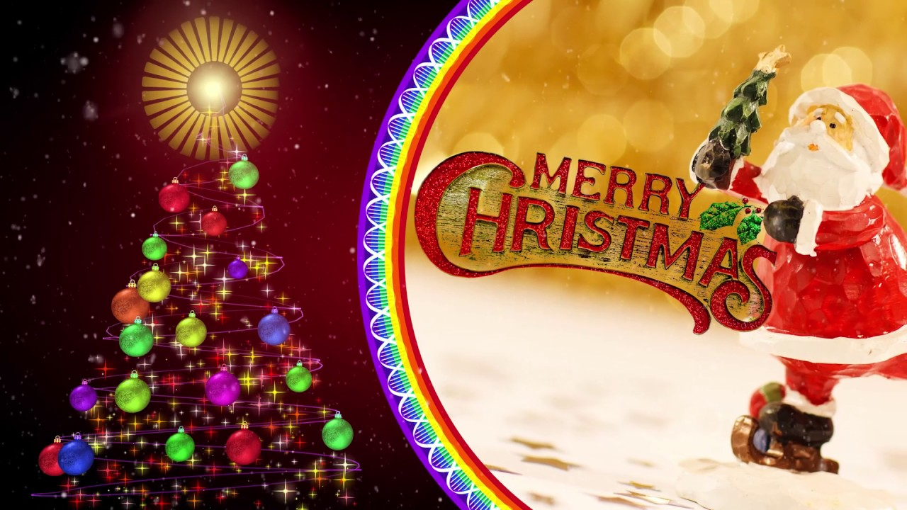 merry christmas greetings download free - youtube