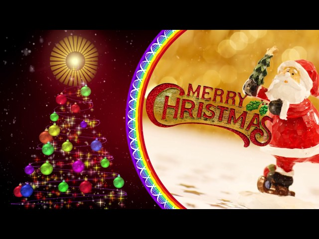 Merry Christmas Greetings Video Free Download All Design