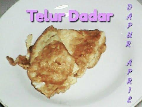 #2 Telur Dadar - 20 Kreasi Telur Ala Dapur April