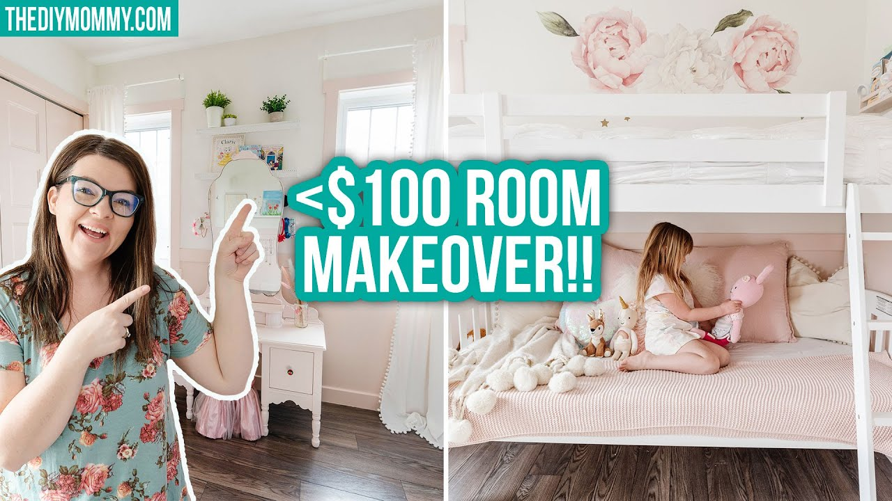 I did a ROOM MAKEOVER for under $100! *tips for a budget bedroom refresh*