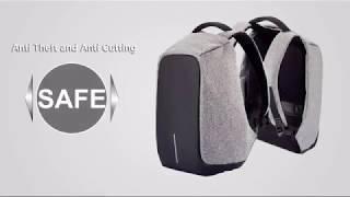 видео Современный рюкзак с защитой от кражи