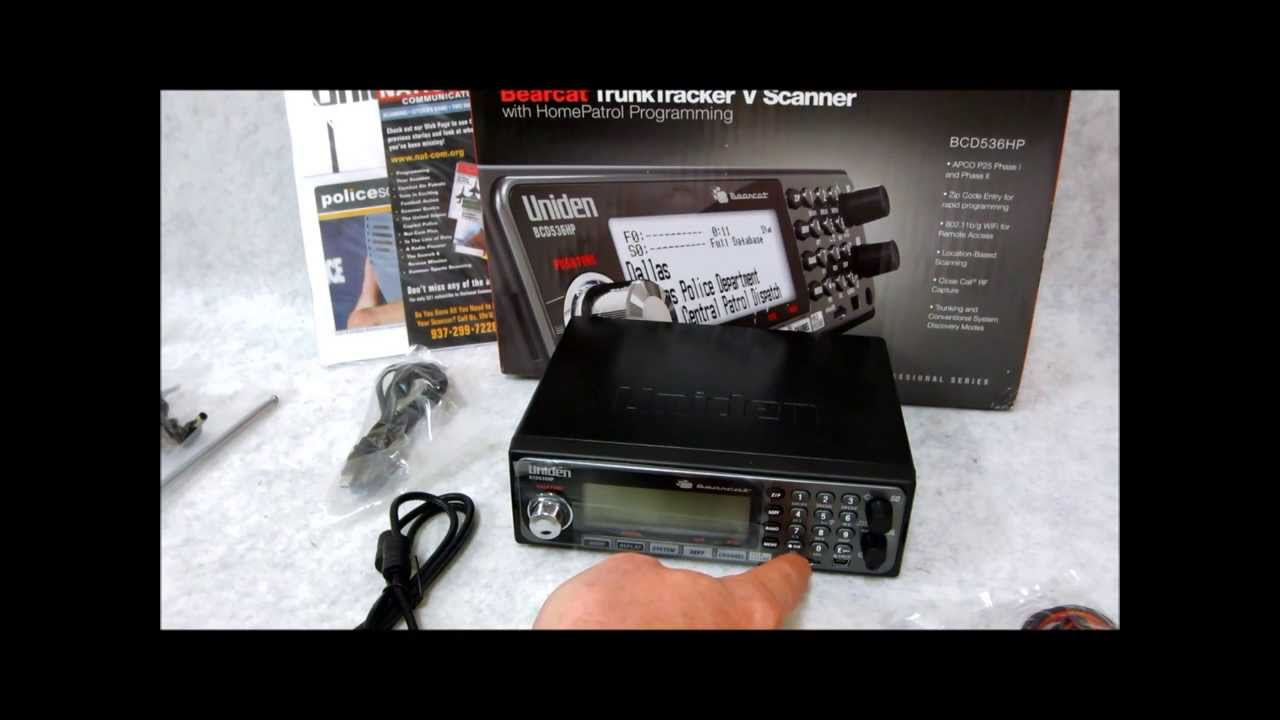 A Look At The Uniden Bearcat BCD536HP Scanner