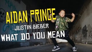 What do you mean by justin bieber | aidan prince | matt steffanina choreography