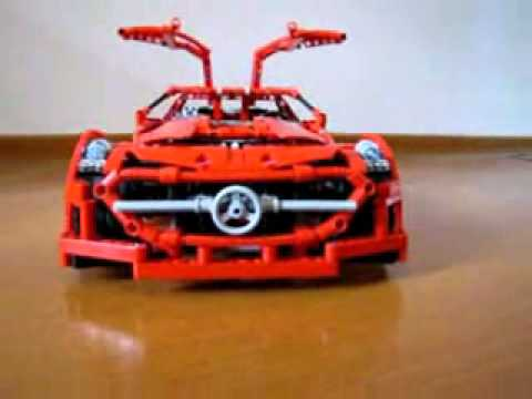 lego technic mercedes benz sls amg youtube. Black Bedroom Furniture Sets. Home Design Ideas