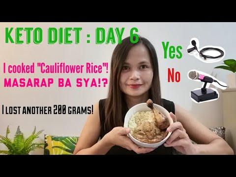 keto-diet-day-6-:-i-cooked-cauliflower-rice-plus-torta-(philippines)