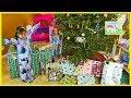 Christmas Morning 2016 Opening Presents Surprise Toys My Size Elsa Barbie Disney Princess Ride-On