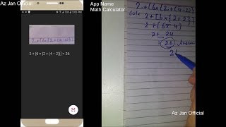 Solve Any Mathematics Problems Or Question New App 2018   Math Calculator