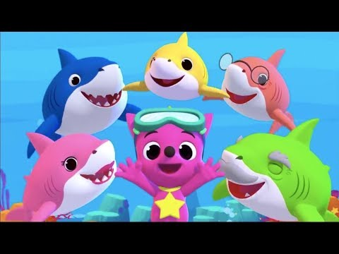 Baby Shark Dance! Different Versions   Sing and Dance   Animals Songs For Children