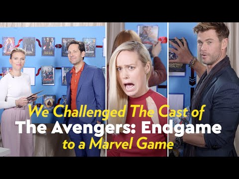The Avengers: Endgame Cast Try to Chronologically Order All 22 Marvel Movies