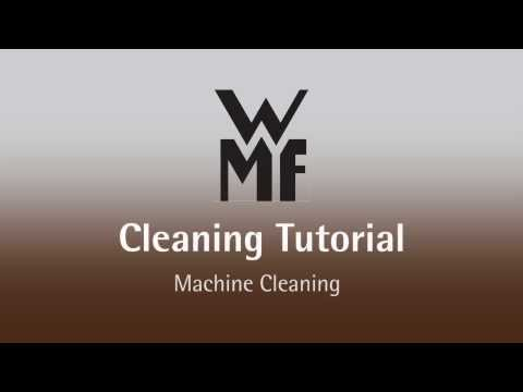 WMF 1400 F Cleaning Video
