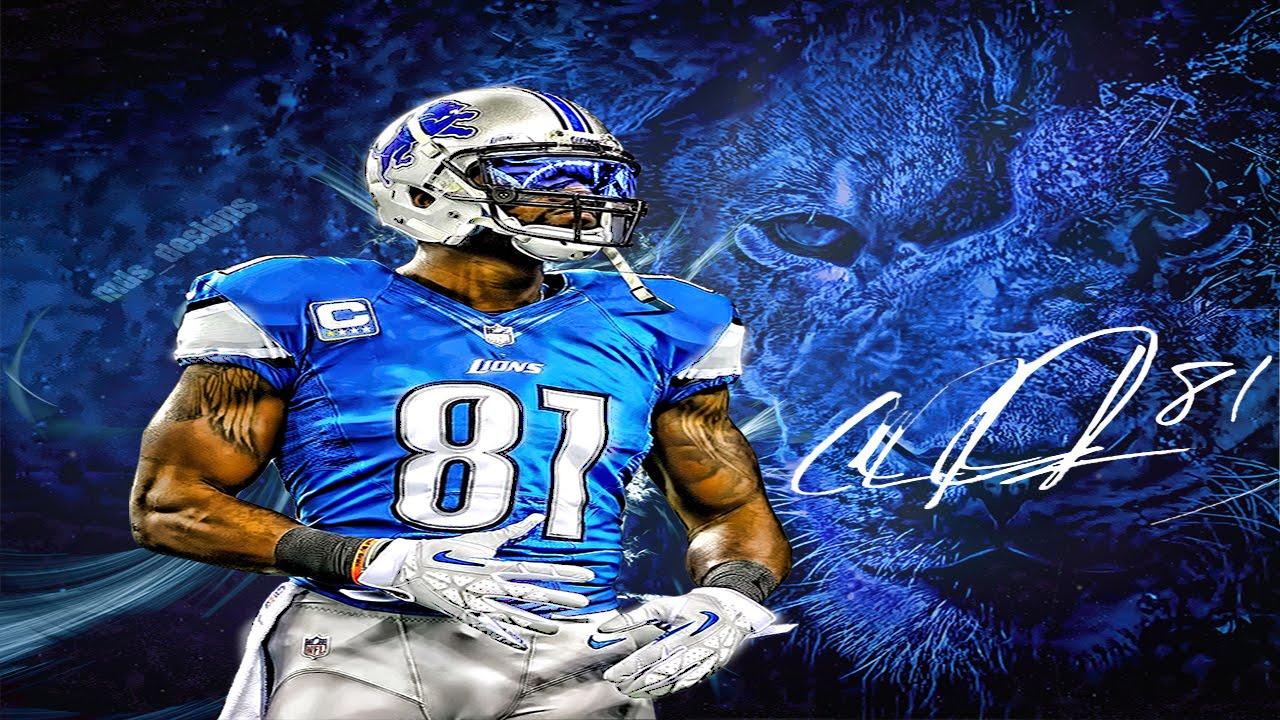 Calvin Johnson Jr. HD Wallpaper Speed Art Photoshop Cs6 - YouTube