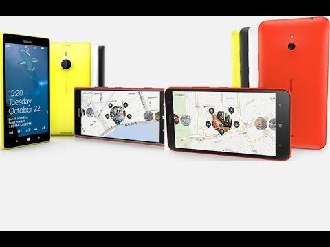 Nokia Lumia 1520 ve 1320 İncelemesi
