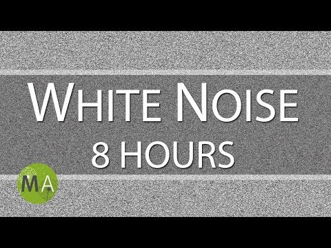 White Noise 8 Hours, for Relaxation, Sleep, Studying and Tinnitus