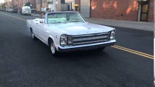 1966 Ford Galaxie 500 Convertible Burnout