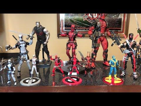 Episode 242 - MY DEADPOOL ACTION FIGURE COLLECTION! Hot Toys! Mezco! Marvel Legends!