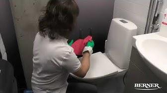 WC-tilojen päivittäinen siivous | Osa 3. WC-allas