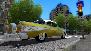 City Car Driving 1.5.1. Chevrolet Bel Air 1957 TrackIR 4 Pro [1080P]