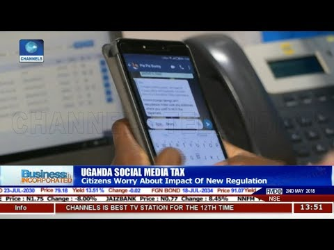Uganda Citizens Worry About Impact Of News Social Media Tax |Business Incorporated|