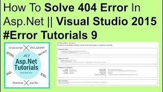How to fix Asp net error 404 not found