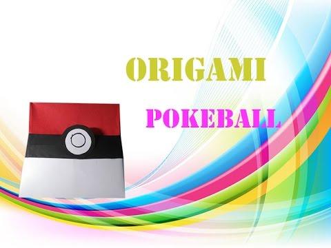 Origami Tutorial How To Fold An Easy Origami Box Pikachu Pokemon