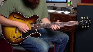 Gibson CS336 Electric Guitar Demo : Small Bodied Thinline Tone Machine