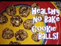 Great for the Lunch Box! Easy No Bake Healthy Vegan Energy Cookie Balls!