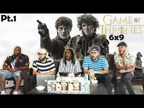 BATTLE OF THE BASTARDS! Game of Thrones Season 6 Episode 9 REACTION! (Pt. 1)