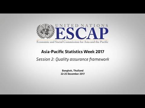 APESW2017: Session 2 - Quality assurance framework
