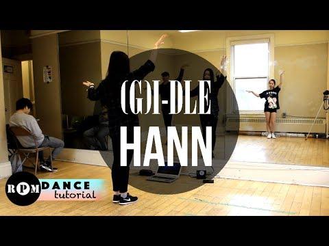 """(G)I-DLE """"Hann"""" Dance Tutorial (Pre-Chorus, Chorus)"""