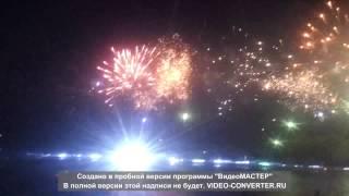 Лазерное шоу на воде в Омске 01.08.2015 г.