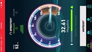 T-Mobile cell spot  4g LTE Speed test