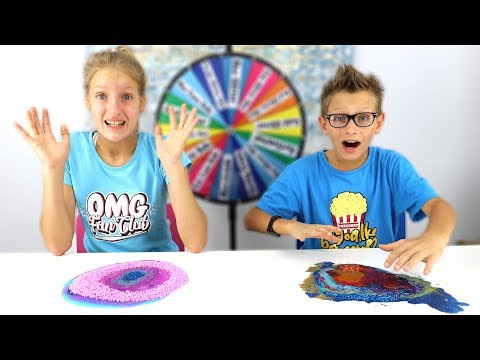 No Bowl, No Spoon Slime Challenge!!!