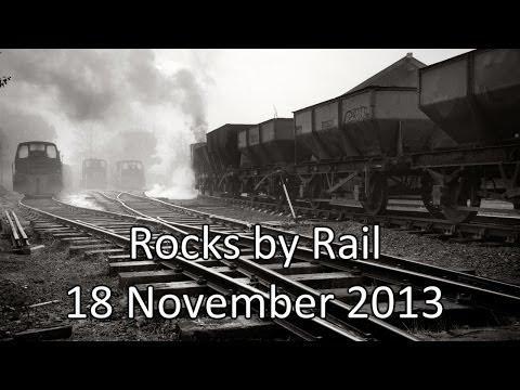 Rocks By Rail, Cottesmore, Rutland.  18 November 2013