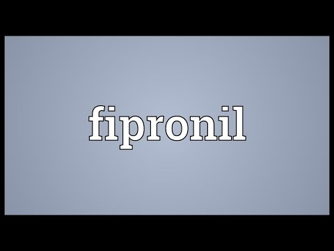 Fipronil Meaning