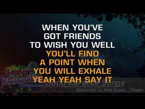Exhale -  Whitney Houston (Lyrics Karaoke) [ goodkaraokesongs.com ]